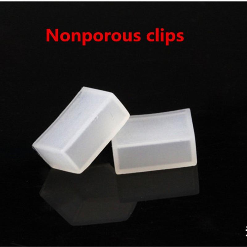 20 sztuk klip silikonowy, 2/4 nieporowate zaślepki używać do SMD ws2801 ws2811 ws2812b 5050 3528 3014 IP67 wodoodporna taśma led światła