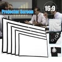 72 pouces HD Ecran de Projection 16 9 Home Cinema Theatre Projection Ecran Portable livraison directe