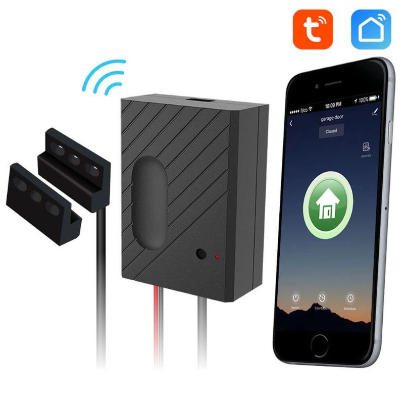 1Set Ewelink/Tuya WiFi Switch Car Garage Door Opener Controller APP Remote Control Timing Voice Control L41F