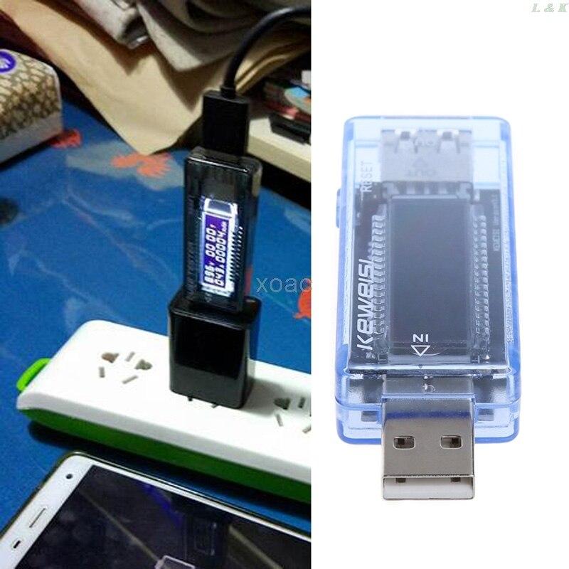Testadores de bateria carregador usb médico detector de energia móvel bateria teste tensão medidor de corrente m12 dropship