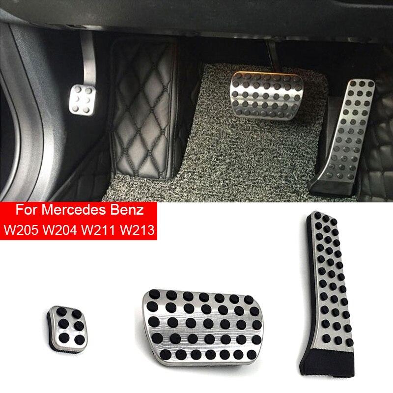 W205 Coche Pedal Accesorios Para Mercedes AMG Benz C E S GLC...