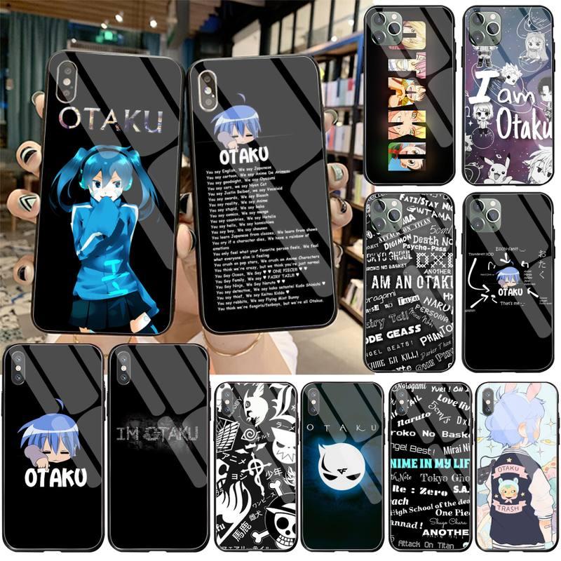 جراب هاتف بتصميم فاخر من CUTEWANAN اليابانية أنيمي أوتاكو لهاتف آيفون 11 برو XR XS MAX 8X7 6S 6 Plus SE 2020