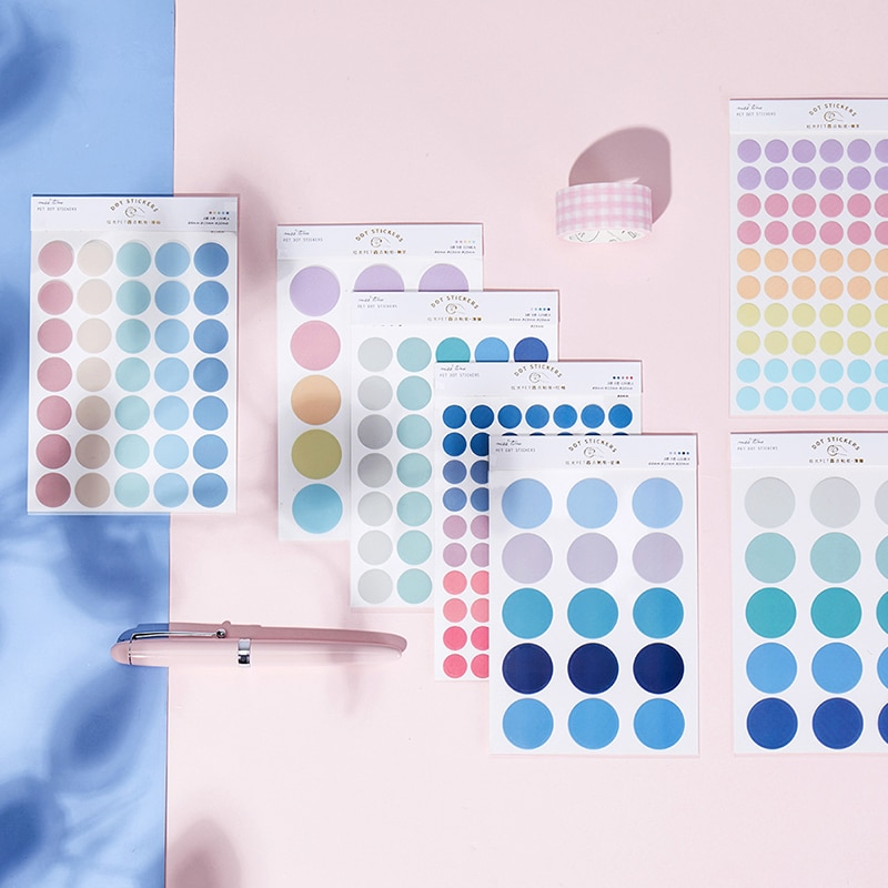 journey-namm-120pcs-dot-morandi-earth-color-scrapbook-album-photo-wall-journal-project-making-happy-card-decoration-adesivi-sigillanti