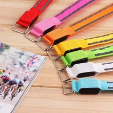 Stylish LED Arm Bands Lighting Armbands Leg Safety Bands for Cycling/Skating/Party/Shooting 7 Colors