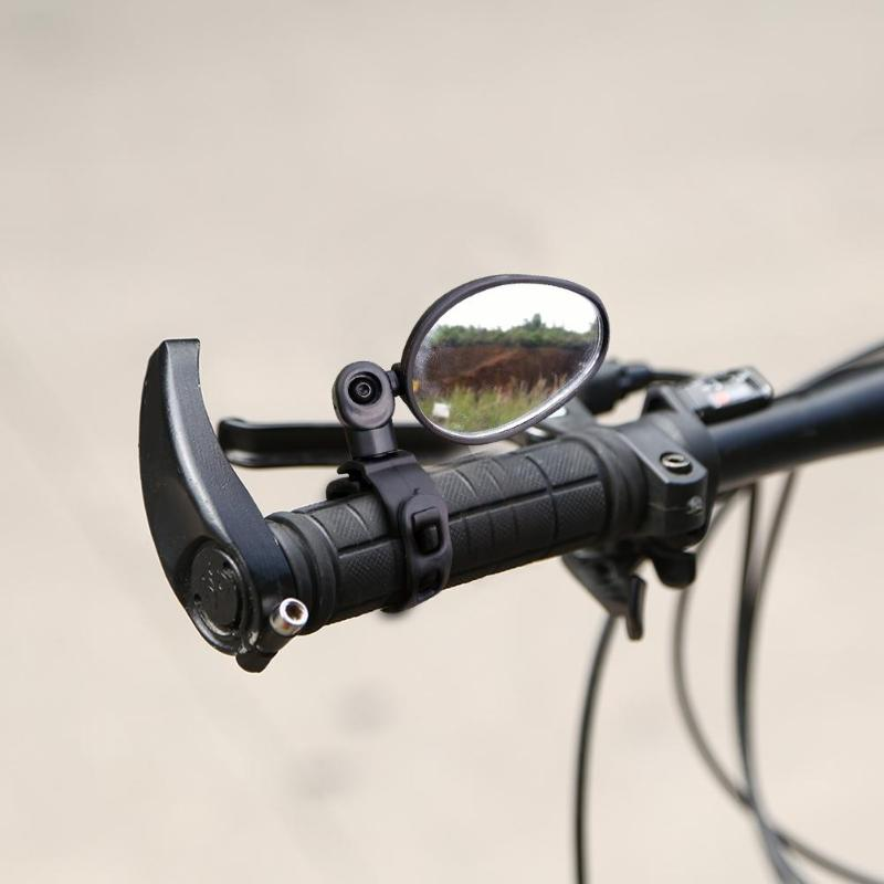 Rétroviseur vélo 360 degrés Rotation vtt vtt vélo de route guidon rétroviseur avion équipement vélo noir