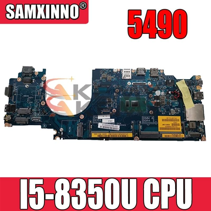 العمل مع اللوحة الأم ديل لاتيتيود 5490 0M71FV M71FV DDM70 LA-F401P I5-8350U اختبارها بشكل جيد