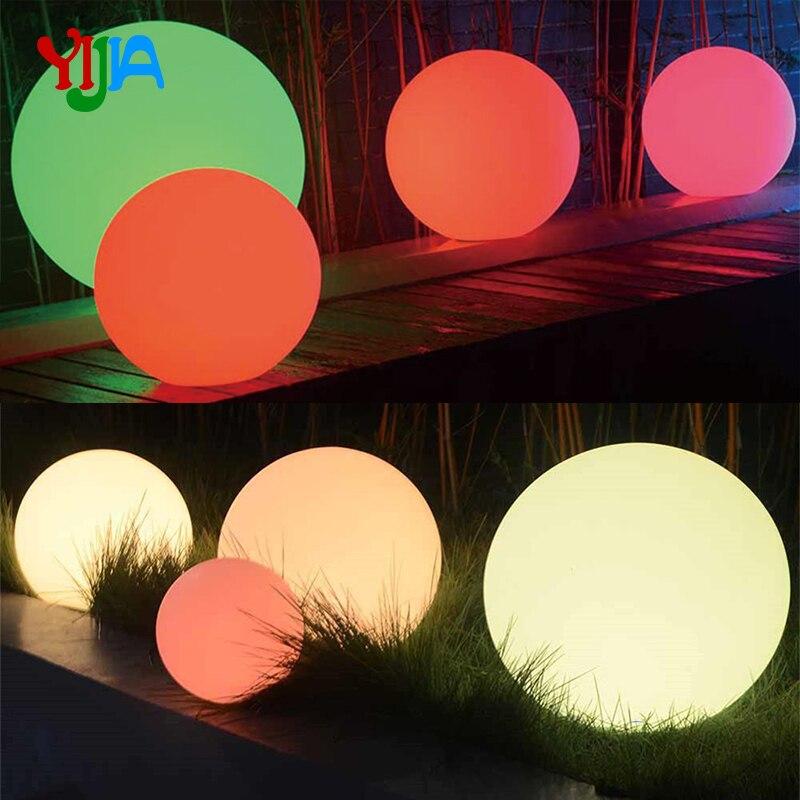 Nuevo diseño divertido PVC Bola de LED inflable con luz RGB/PVC inflable pelota de playa agua flotante globo venta