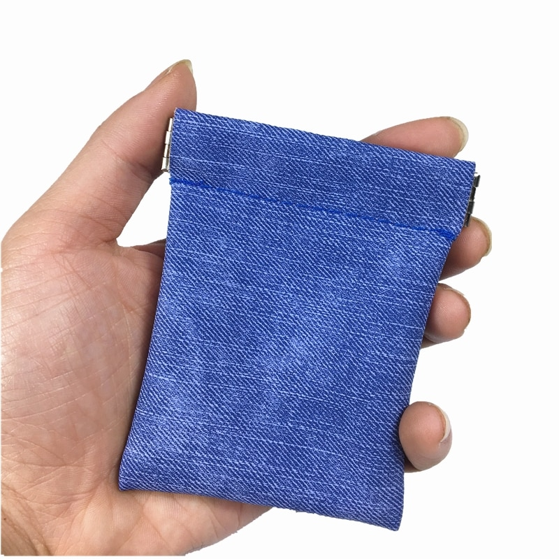 Nouvelle mode solide noir bleu doux en cuir PU métallique porte-monnaie hommes petit court portefeuille argent sac clé organisateur porte-carte cadeau