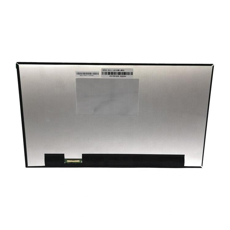 Pantalla LCD LCM de 13,3 pulgadas Panel matriz LQ133M1 JW03 LQ133M1JW03 1920x1080 FHD eDP pantalla (sin difusor táctil)
