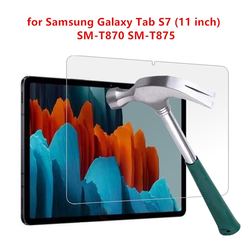 11 0 lcd for samsung galaxy tab s7 t870 lcd display touch screen digitizer assembly for samsung sm t870 t875 t876b lcd screen 9H Full Cover Tempered Glass Film For Samsung Galaxy Tab S7 11 Screen Protector Safety Glass Guard For SM-T870 SM-T875 SM-T876B