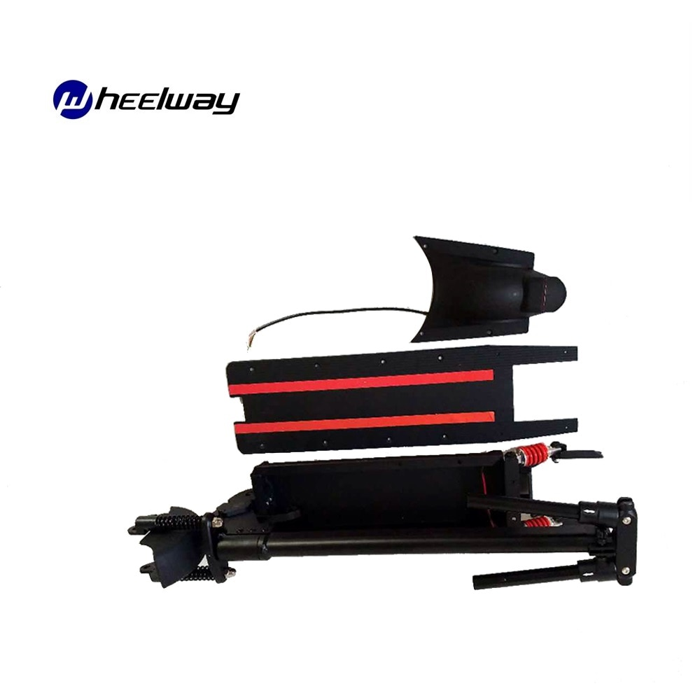 Kit de amortiguadores dobles de 8 y 10 pulgadas para patinete eléctrico,...