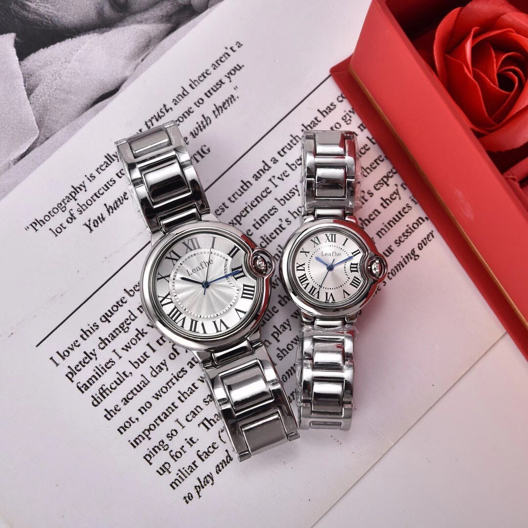 Relógios de Quartzo Relógio de Pulso Moda Prata Inoxidável Marca Feminina Senhoras Meninas Famoso Feminino Rosa Relógio Montre Femme Reloj