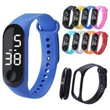 Smart Bracelet LED Digital Display Bracelet Fashion Electronic Bracelet Watch Students Couple Childr