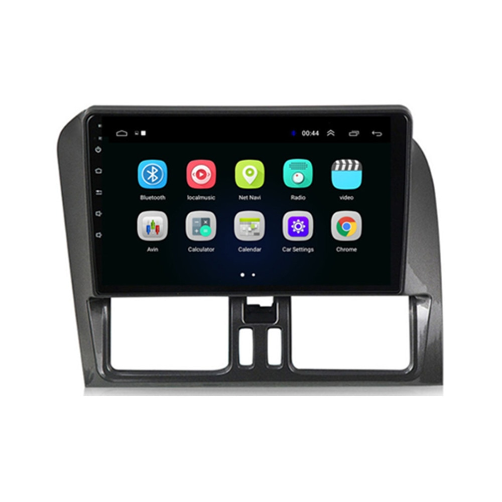 2 din Android autoradio car multimedia radio coche auto automagnitol Navigation GPS player for  Volvo XC60 2009-2017