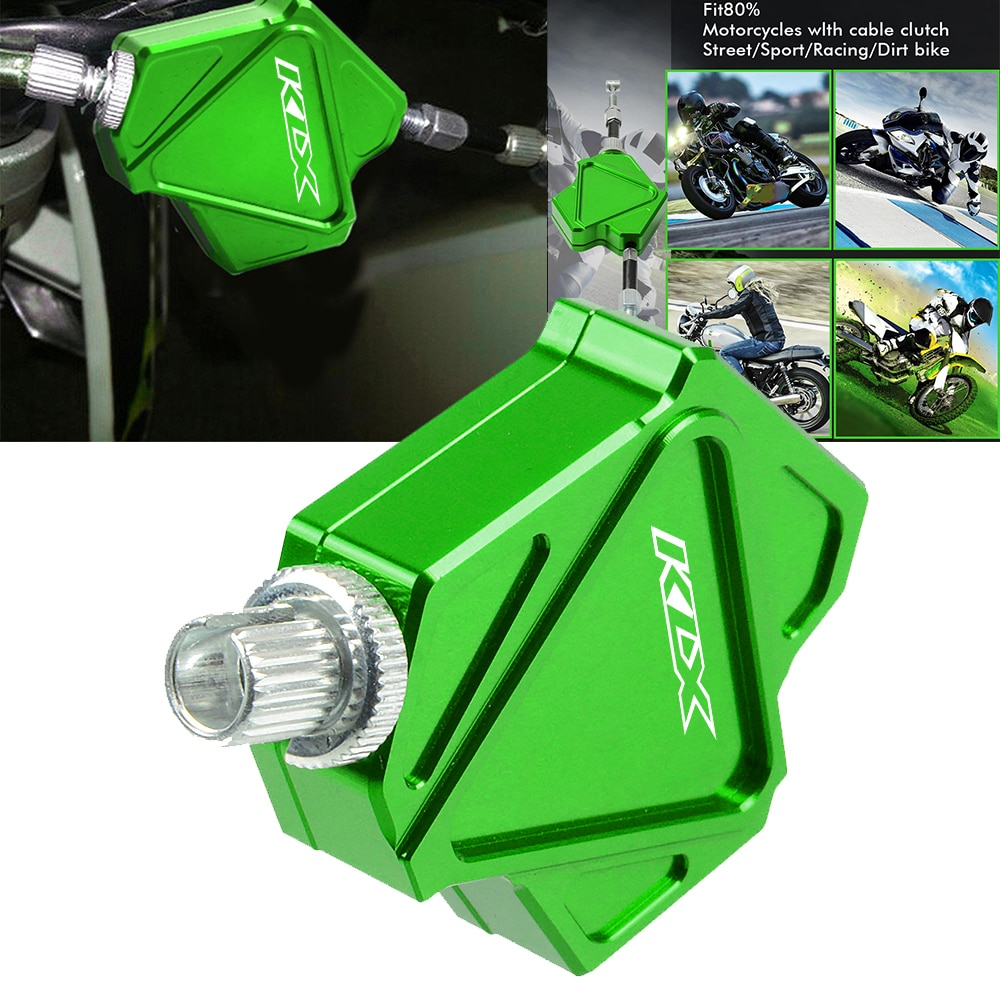 Motorcycle CNC Aluminum Dirt Pit Bike Stunt Clutch Lever Easy Pull Cable System For KAWASAKI KLX450R KLX 450R KLX450 R 2008-2015