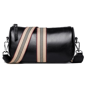 100% Genuine Leather Shoulder Bag Women Handbags Fashion Designer Female Messenger Bag Luxury High Quality Cowhide Women's Bag