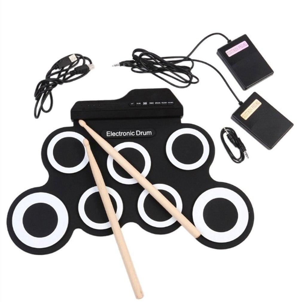 1 Kit de batterie ensemble lien à votre téléphone portable tonalité de batterie de téléphone réglable vitesse de jeu sur un Tour de route ou simplement pratiquer