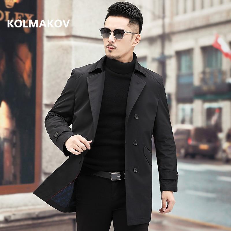 KOLMAKOV-سترة رجال الأعمال ، معطف غير رسمي كلاسيكي ، سترة واقية عالية الجودة ، مجموعة خريف وشتاء 2021