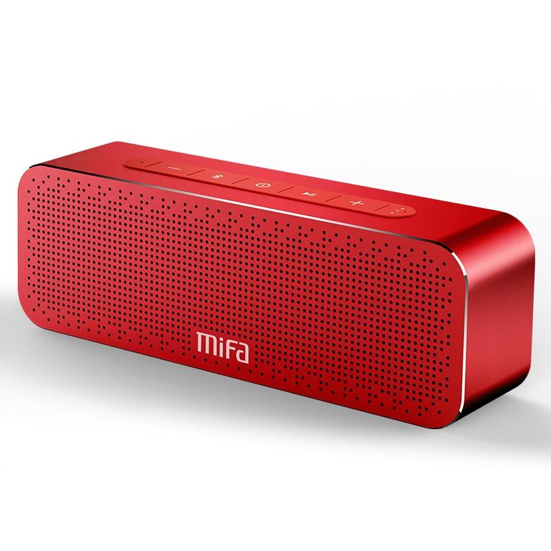 MIFA-مكبر صوت محمول لاسلكي بخاصية بلوتوث ، مع دعم للميكروفون., مكبرات صوتية Boombox يدعم إدخال TF و AUX و TWS