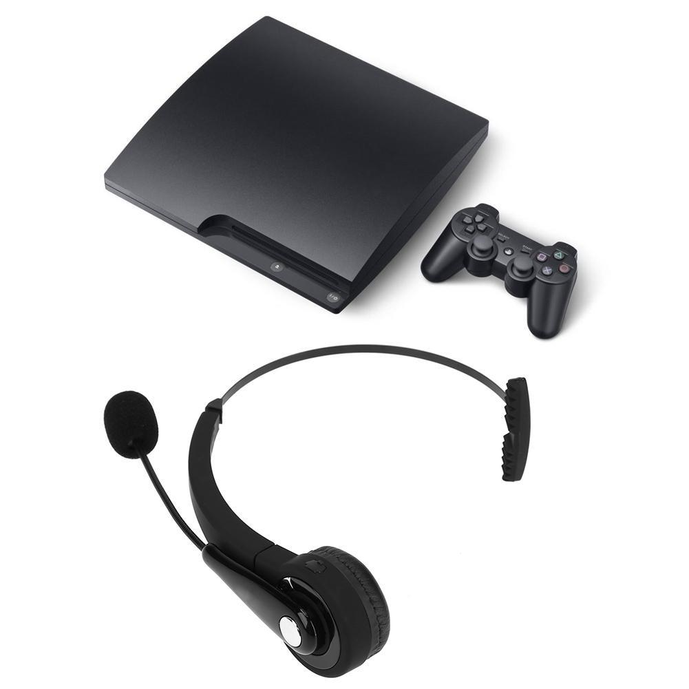 Mono sem fio bluetooth fone de ouvido com microfone para o computador portátil do telefone móvel do escritório ps3