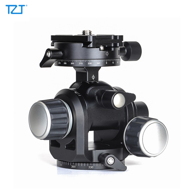 TZT GH-PRO موجهة ترايبود رئيس بانورامية ترايبود رئيس تحميل 5 كجم للكاميرا SLR المهنية