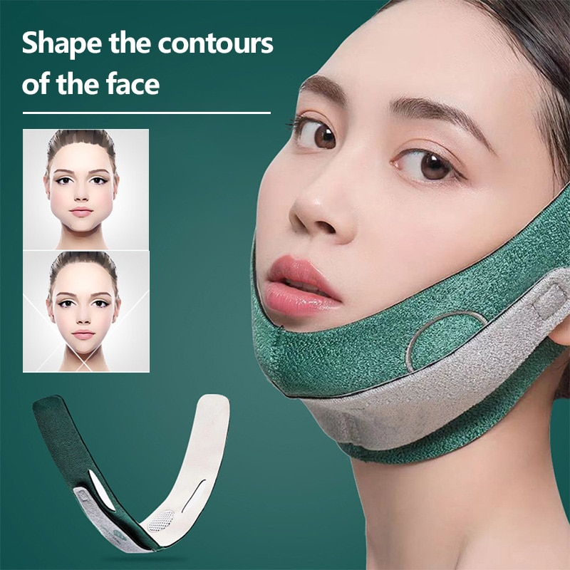 Face lifting Strap for Women Face Slimming Straps V-Line Facial lift Bandage Sculpt Bandage Men Modeling Strap Face Fixed Belt
