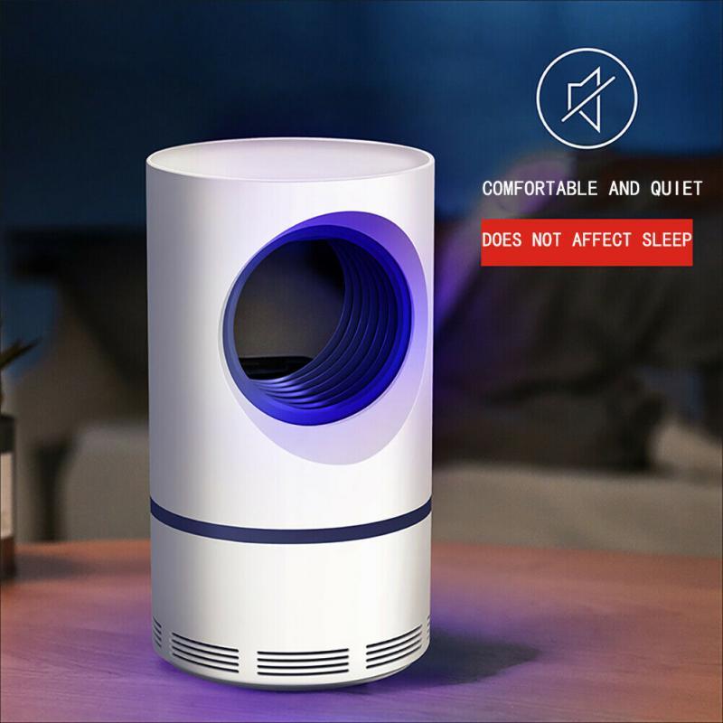 Низковольтный ультрафиолетовый светильник USB, лампа-убийца комаров, безопасный энергосберегающий эффективный фотокаталитический антимоскитный светильник