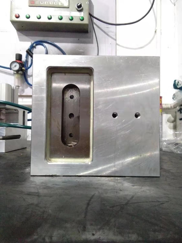 Perforadora de bolsa de palanca neumática de 80*20mm con ranura de paso de 120mm