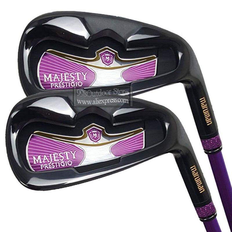 Novo conjunto de ferros maruman majestade prestigio 9 ferros de golfe 5-9 p a s clubes de golfe grafite eixo l e headcov frete grátis