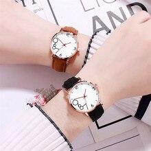 Women Watches Relojes Para Mujer Wristwatch Fashionable Temperament Female Leather Strap Watch Quart
