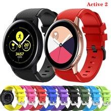 Montre galaxie 46mm bracelet pour Samsung Gear S3 bracelet frontière actif 2 42mm 20/22mm bracelet de montre huawei montre gt 2 bracelet