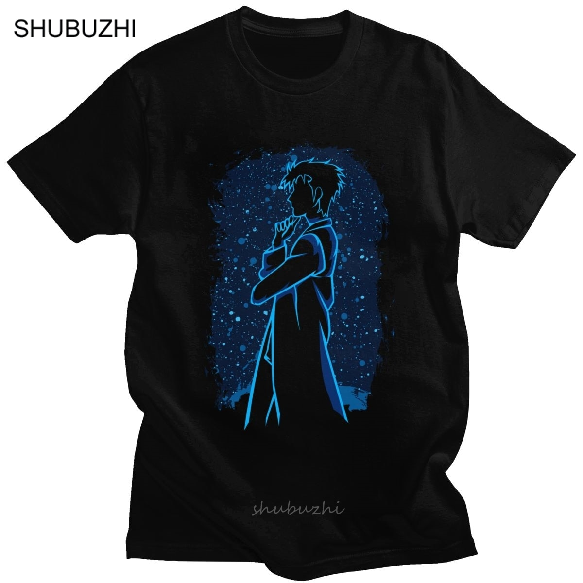 Génial Steins porte T-shirt hommes 100% coton T-shirt manches courtes le scientifique Rintarou Okabe T-shirt Anime Fan vêtements