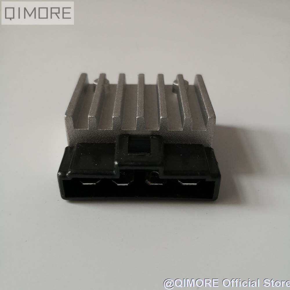 4 pin 12v Dual Silicon Voltage Rectifier Regulator for Scooter Moped ATV Minarelli 1E40QMB JOG 50 90 BWS100 JOG RR