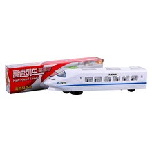 Glowing Music Train Universal Electric High-Speed Train Simulation Harmony Train Flashing Children'S Toy