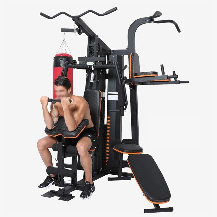 معدات تدريب اللياقة البدنية متعددة الوظائف لعام 0602 معدات محطة التدريب على اللياقة البدنية حقيبة الرمل مقعد الدمبل القابل للتعديل