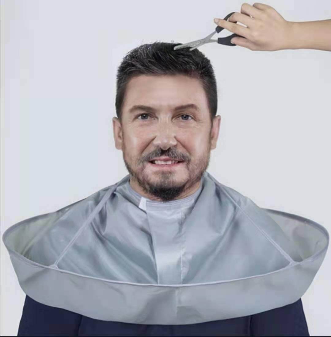 Creative DIY Aprons Hair Cutting Coat Cloak Hair Barber Salon Stylists Umbrella Cape Cloak Household Cleaning Protector