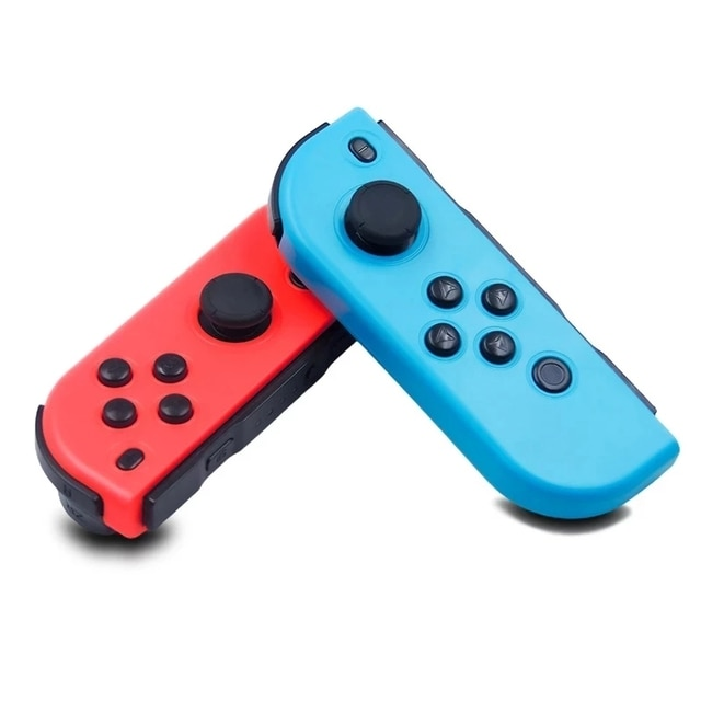 2021 New Bluetooth Wireless Controller for Nintend Switch joy Left & Right Console Joystick Red and blue Bluetooth Function 2