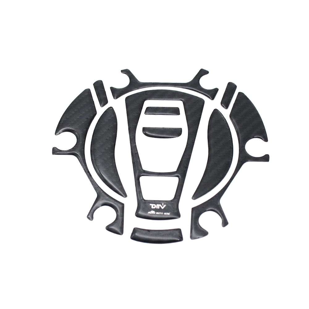 Углеродное волокно Бензобак наклейка топливная крышка Накладка протектор для BMW R1200GS 15 R1200GS ADV 15-R1200RT 15-K1600GT 15-K1600GTL 15