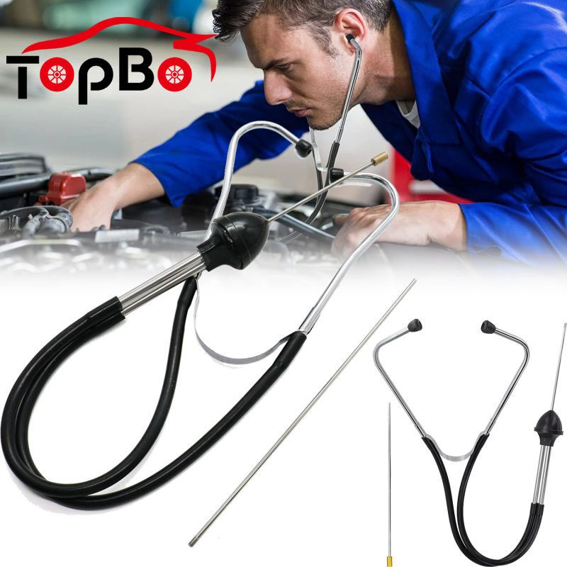 1PC Auto Stethoscope Car Engine Block Diagnostic Tool Cylinder Automotive Engine Hearing Tools For Car Professional Accessories car mechanical cylinder stethoscope abnormal engine noise diagnostic tool automotive engine hearing tool cylinder detection