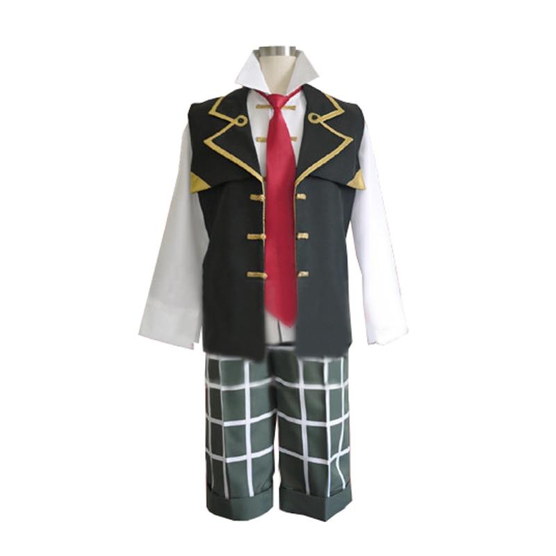 판도라 하트 체셔 코스프레 의상 테일과 장갑