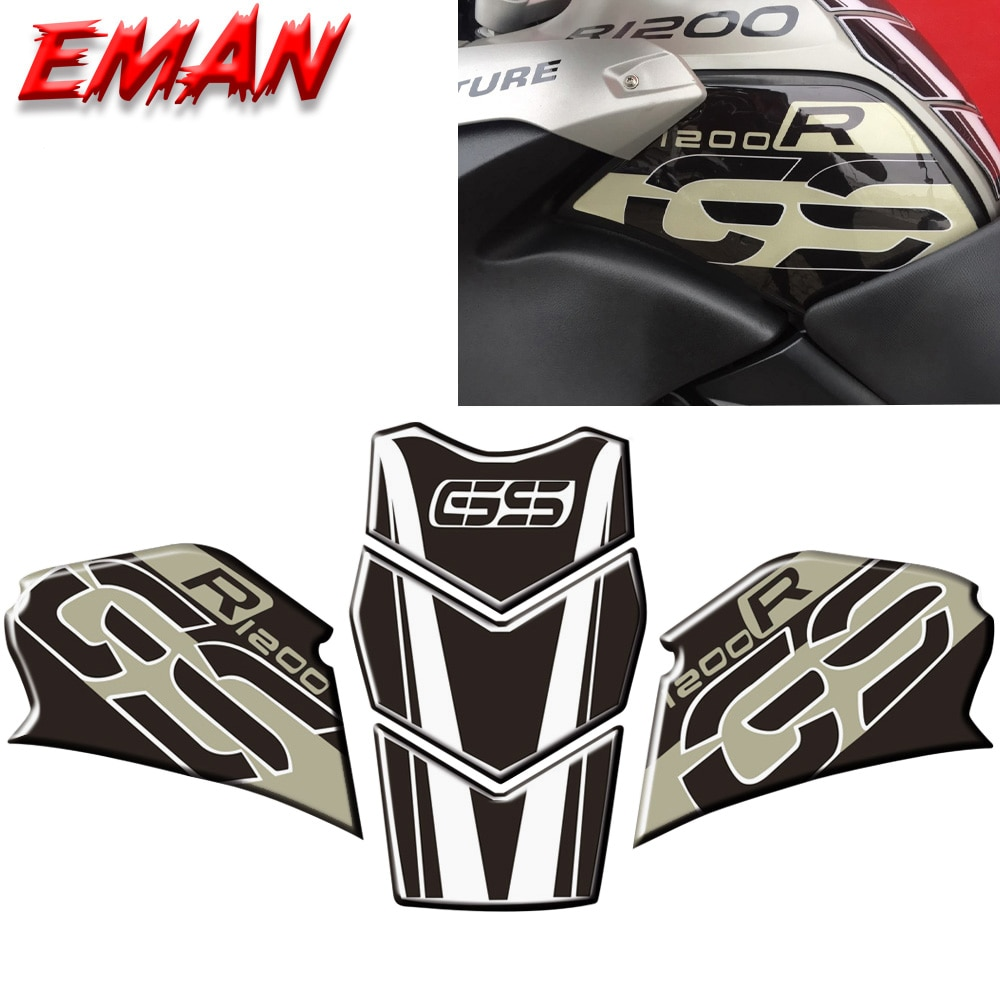 new motorcycle fuel tank side box protection sticker anti scratch decorative decal for bmw f850gs adv f 850 adv Adopt Epoxy Resin Process Anti Skid Protection Sticker for Motorcycle Fuel Tank For BMW R1200GS Adventure R1200 GS ADV 2005 -12