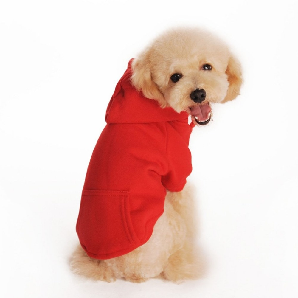 Winter Warm Pet Dog Coat Clothes Hoodie Sweater For Small Medium Dogs Costumes Dogs Jackets XS-XXL Drop Shipping
