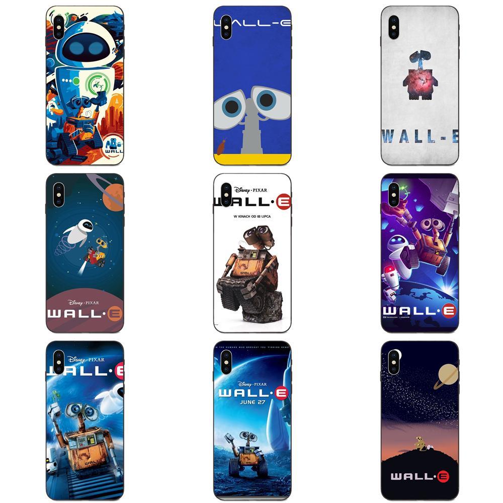 Para Galaxy A3 A5 A6 A6s A7 A8 A9 A10 A20E A30 A40 A50 A60 A70 A80 A90 Plus 2018 TPU caja del teléfono móvil casos pared dibujos animados-e cartel