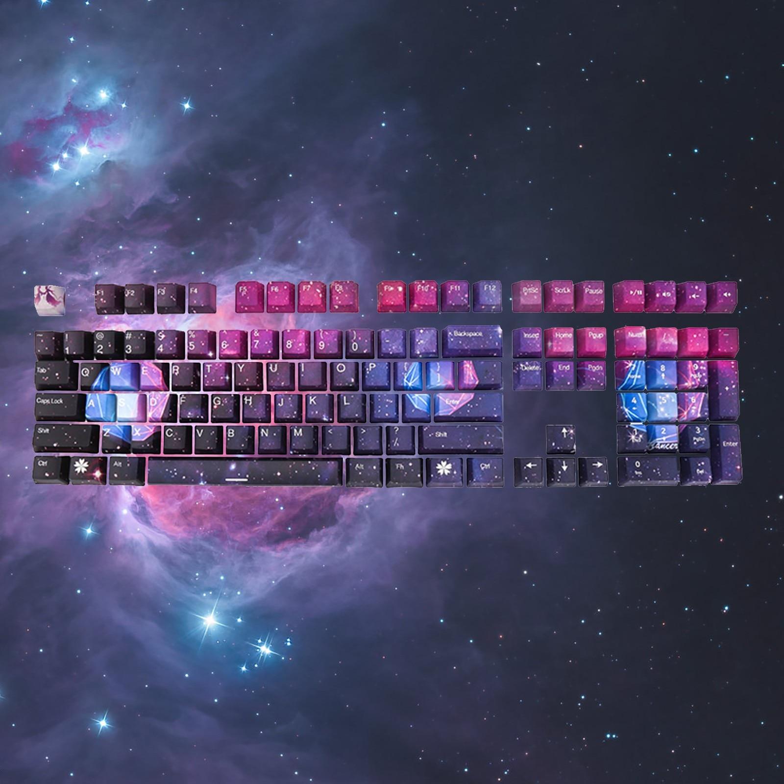 مفاتيح لوحة مفاتيح ميكانيكية ، Pbt oem ، 108 مفتاح ، مصبوب بالحقن ، جودة عالية