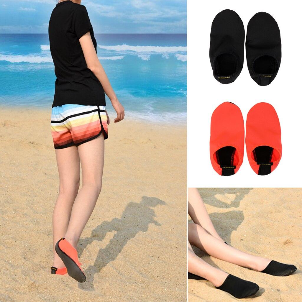 Unisex Durable Non-slip Sole Barefoot Water Skin Shoes  Socks for Beach Pool Sand Swim Surf Yoga Wat