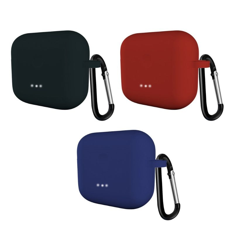 Clamshell abertura flexível silicone abrangente capa protetora completa para anker soundcore liberdade ar 2 fones de ouvido