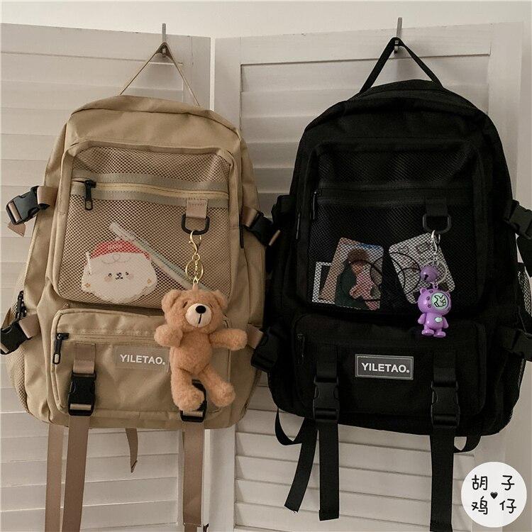 Большой Вместительный рюкзак для компьютера BB2699 2021 в стиле ретро, японский рюкзак для инструментов в стиле Харадзюку для мужчин