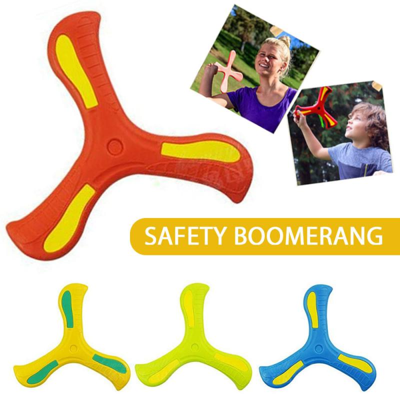 1Pcs Scimitar Boomerang Children's Toy Puzzle Decompression Outdoor Products Toy Sports Fun Game Gifts For Kids Children Gift