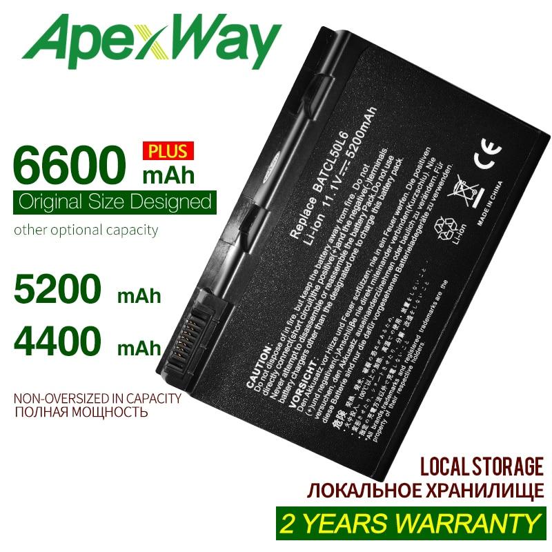 ApexWay 4400mAh laptop battery for Acer Aspire 3100 3103 3690 4551 4551G 4738G 5100 5110 5510 5515 5610 5630 5632 5650 5680