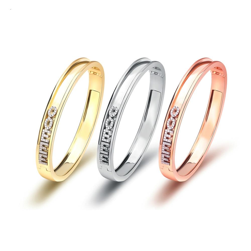 Dodoai diy sliding pulseira para mulheres e homens 2020 personalidade slider pulseira numeral romano pulseira feminina de deslizamento